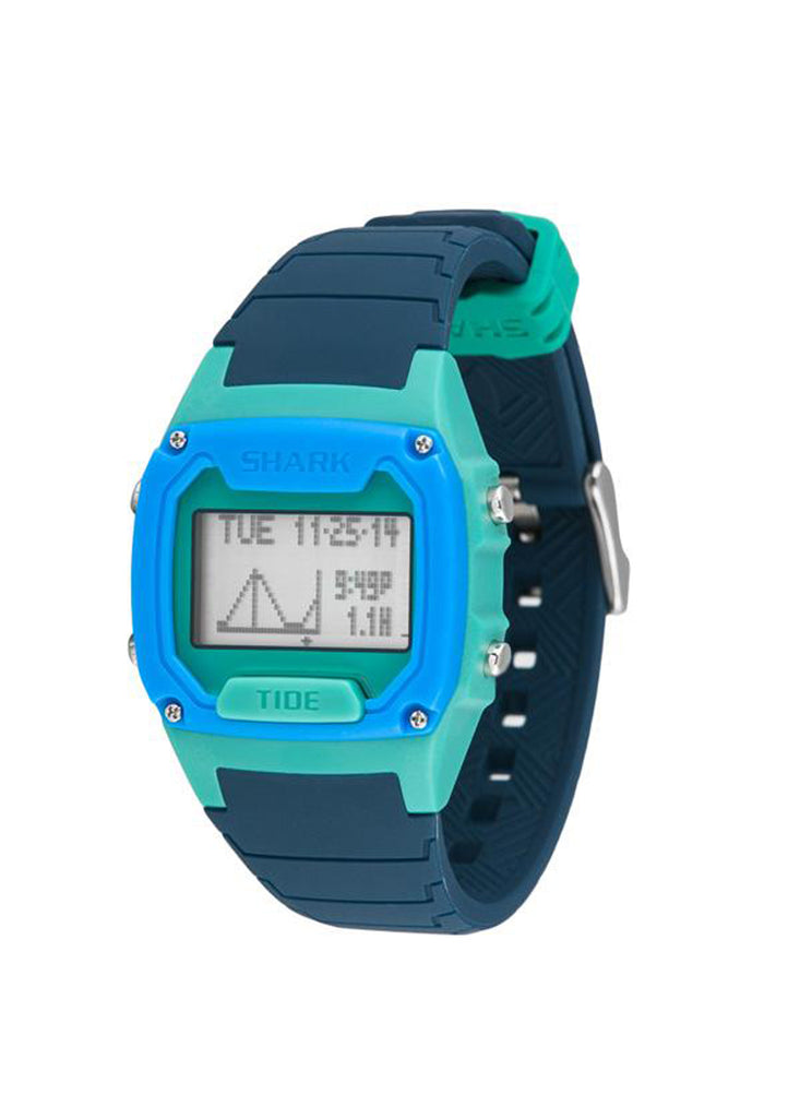 Shark Classic Tide Watch Navy/Green/Blue