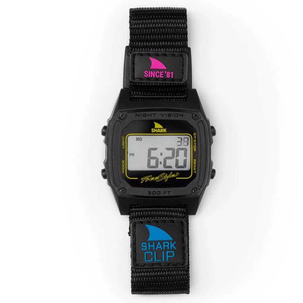 Shark Classic Clip Since '81 Primary Black Watch