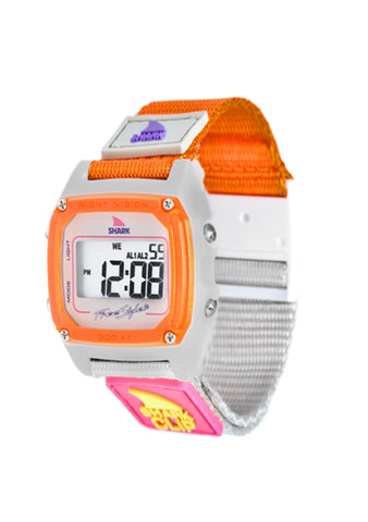 Shark Classic Clip Watch Taupe/Neon