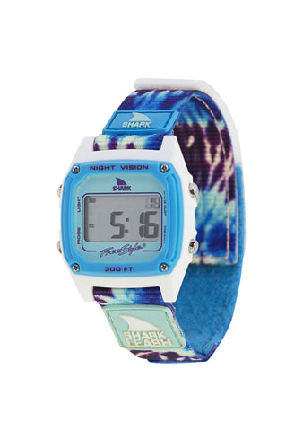Shark Classic Leash Watch Tie-Dye Blue Daze
