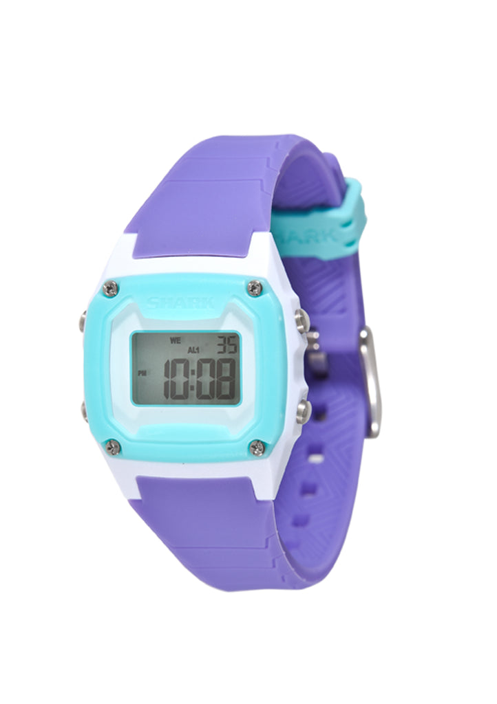 Shark Mini Watch Turquoise/Purple/White