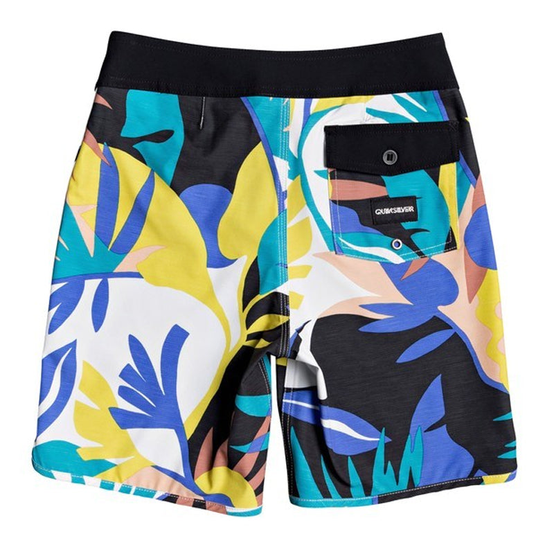 "Boys Highline Tropical Flow 17"" Board Shorts"
