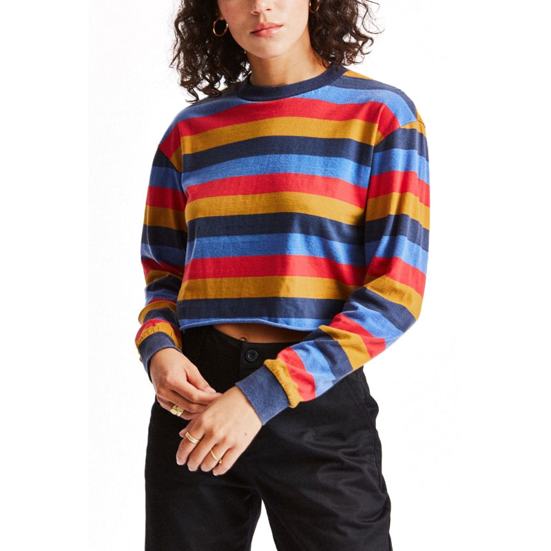Womens Emily L/S Crop Tee