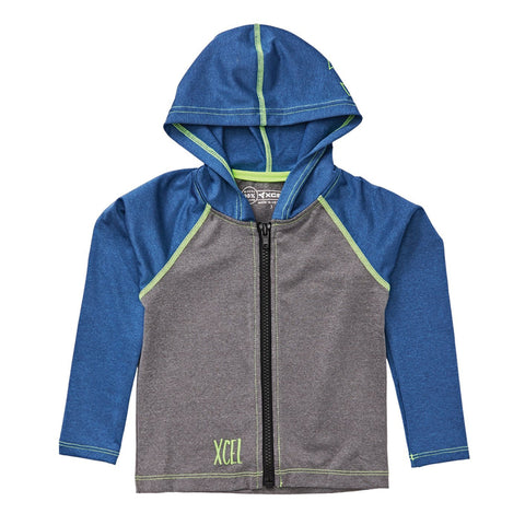 Xcel Toddlers Premium FZ Hooded UV Sweatshirt