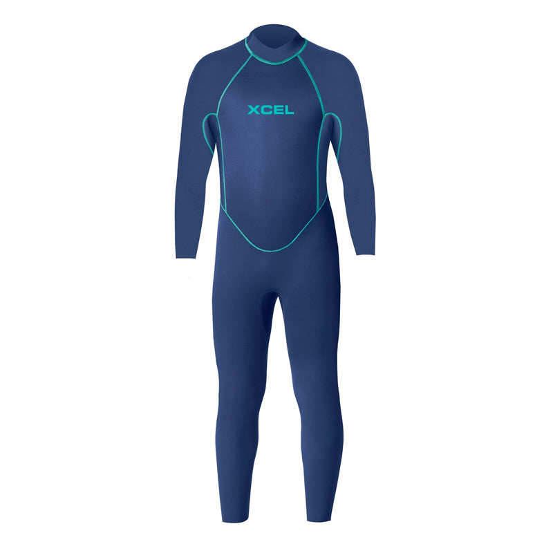 Xcel Toddler 3mm Back Zip Fullsuit Wetsuit SP19