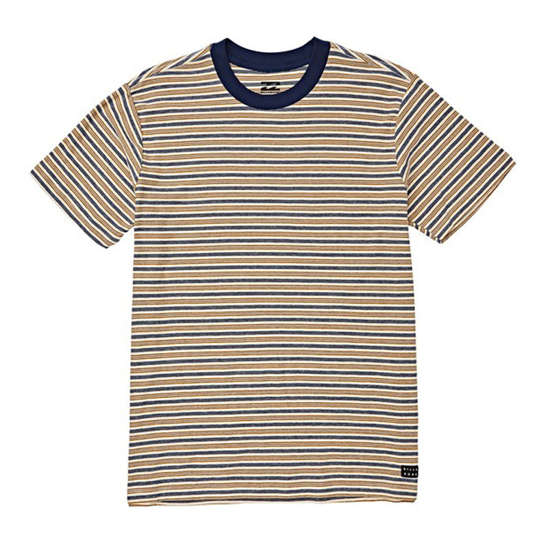 Boys (2-7) Die Cut Stripe Crew Tee