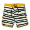 Little Boys Cassette Stripe Trunks