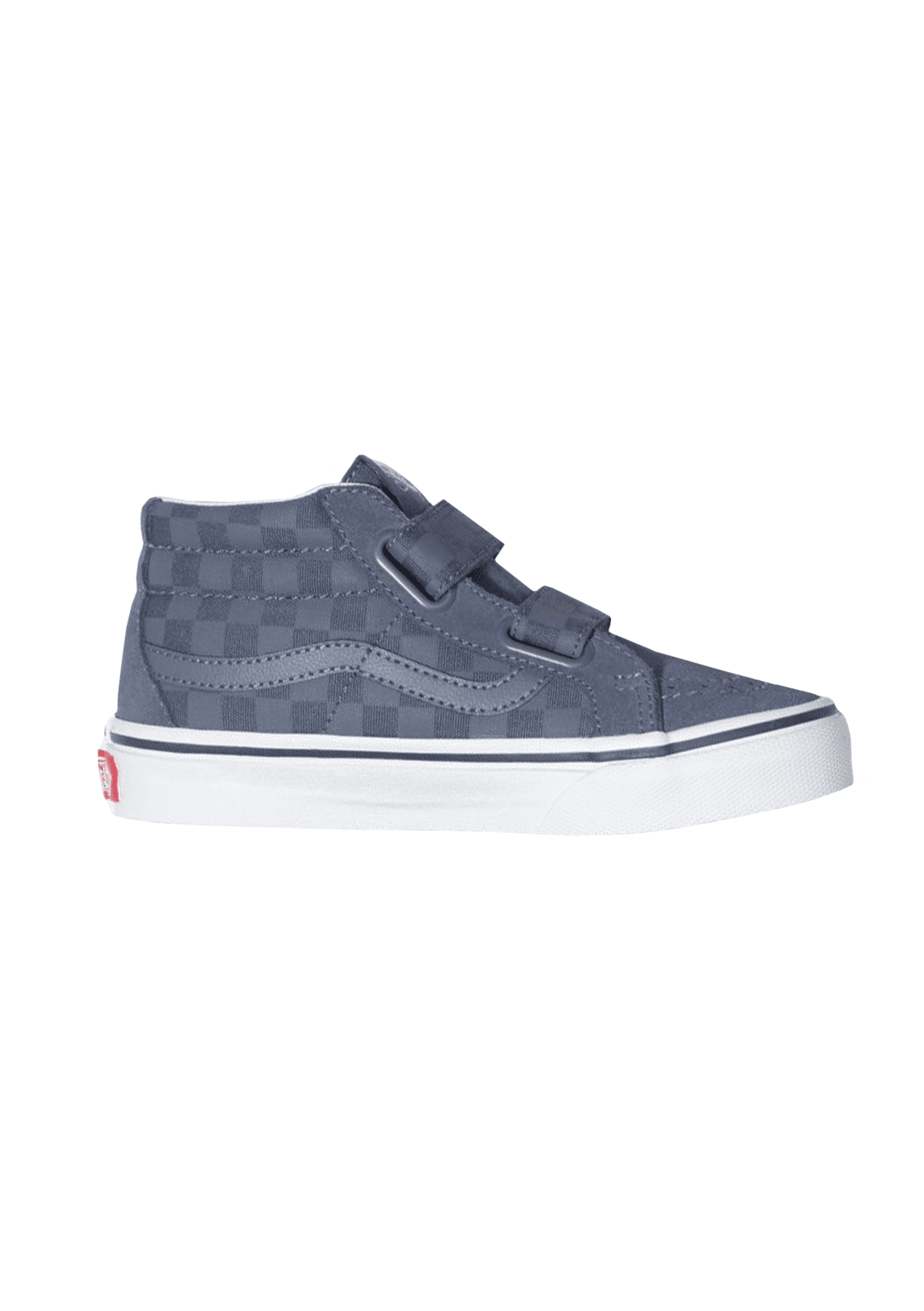 Boy's Checkerboard Sk8-Mid Reissue Shoe