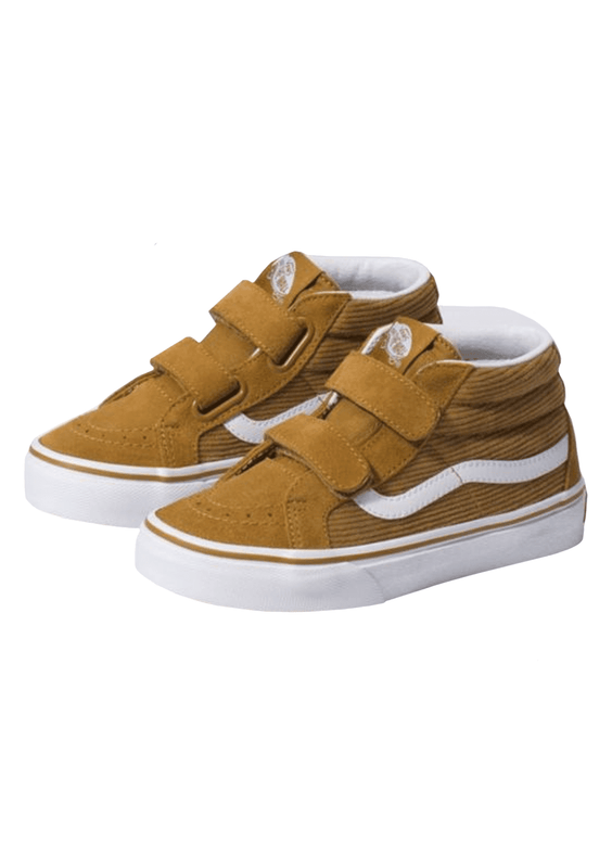 Kids Toddlers Boy's Corduroy Sk8-Mid Reissue V Shoe
