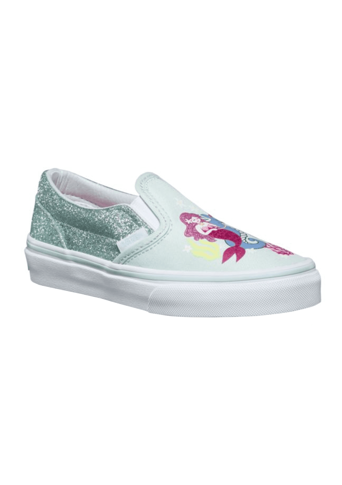 Kids Girls Mermaid Slip-On