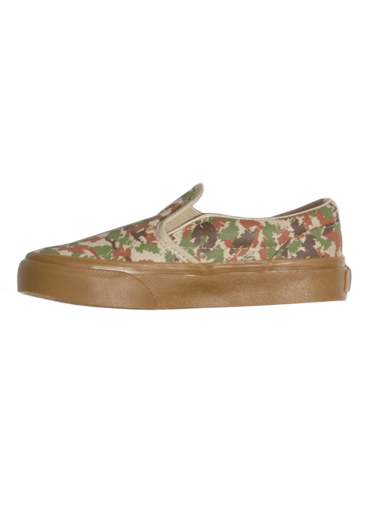 Kids Boy's Sketch Camo Slip-On Shoe