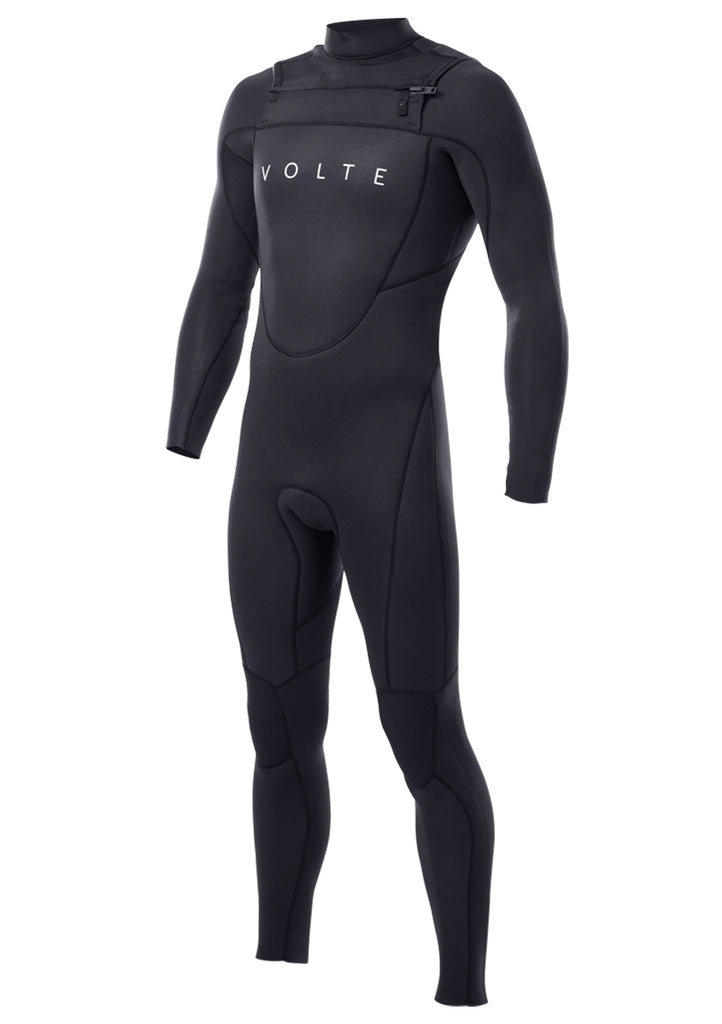 Volte Men's Vital 3x2 Chest Zip Fullsuit Wetsuit