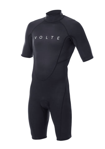 Volte Youth 2x2 Back Zip S/S Springsuit Wetsuit