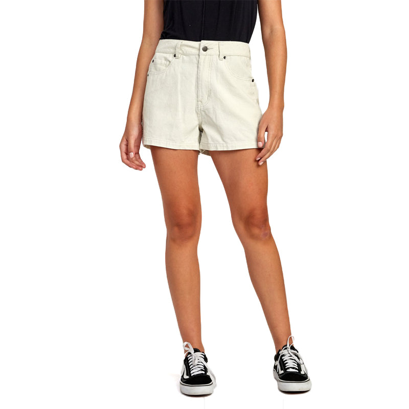 Womens Lyric High Rise Corduroy Short