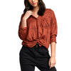 Womens Hera Oversized Button-Up Shirt