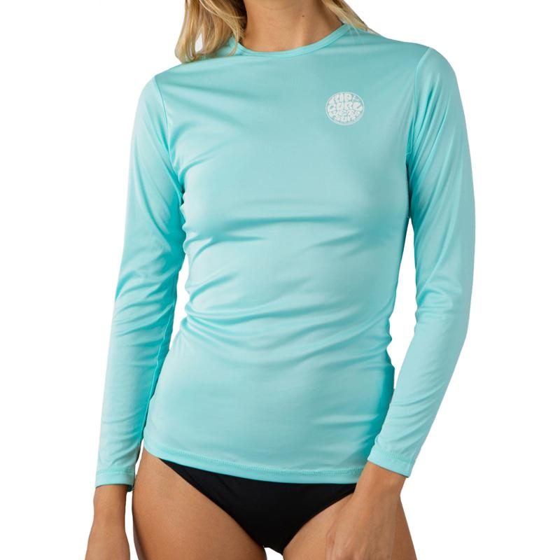 Rip Curl Women's Whitewash L/S UV Rashguard FA19