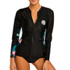Rip Curl Women's Moontide Zip Through Long Sleeve Rash Guard FA19
