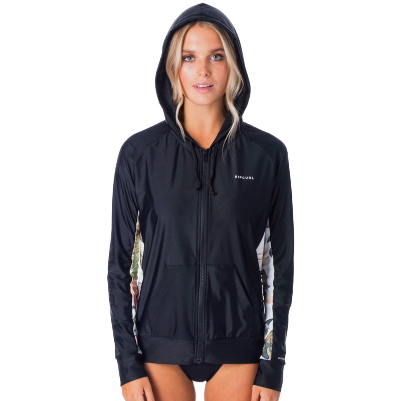 Rip Curl Women's Long Sleeve Zip Surf Hoodie SP20