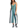Womens Island Striped Jumpsuit