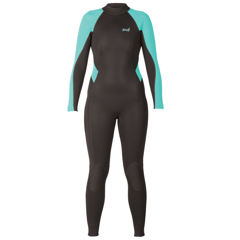 Xcel Women's Axis 3/2mm Flatlock Back Zip Fullsuit Wetsuit FA19