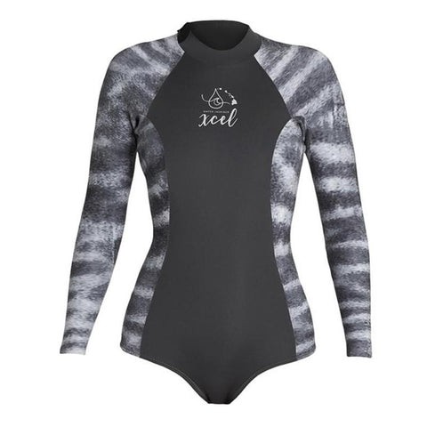 Xcel Women's Water Inspired Axis 2m L/S Back Zip Spring Suit FA19