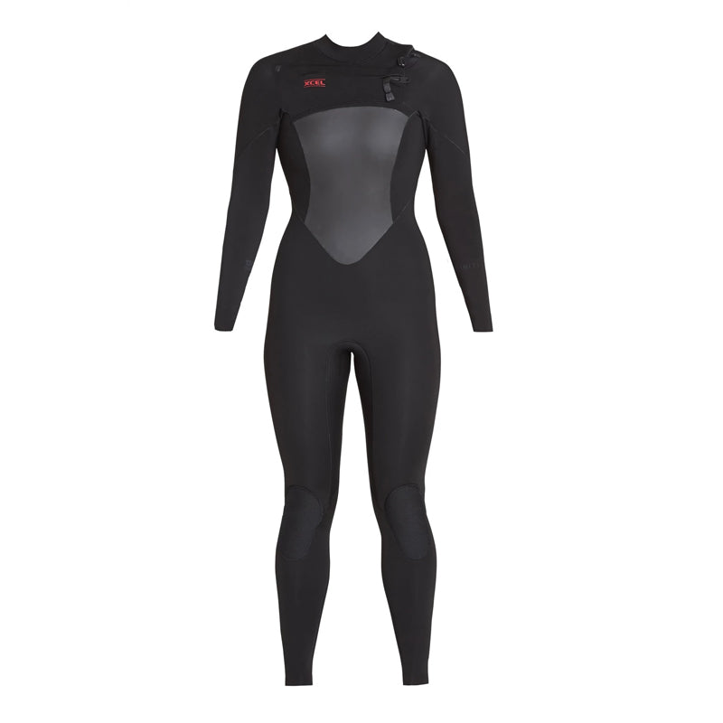 Xcel Women's Infiniti 3/2 Chest Zip Fullsuit Wetsuit