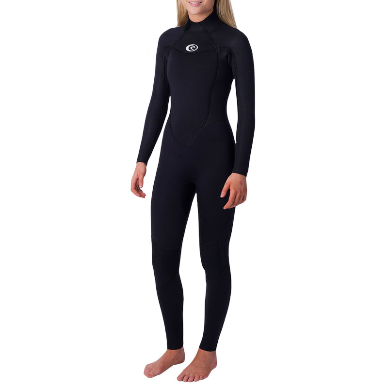 Rip Curl Women's Omega 4/3mm Back Zip Fullsuit Wetsuit SP20