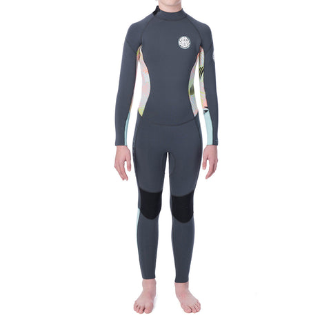Rip Curl Girl's Dawn Patrol 4/3MM Back Zip Fullsuit Wetsuit FA19