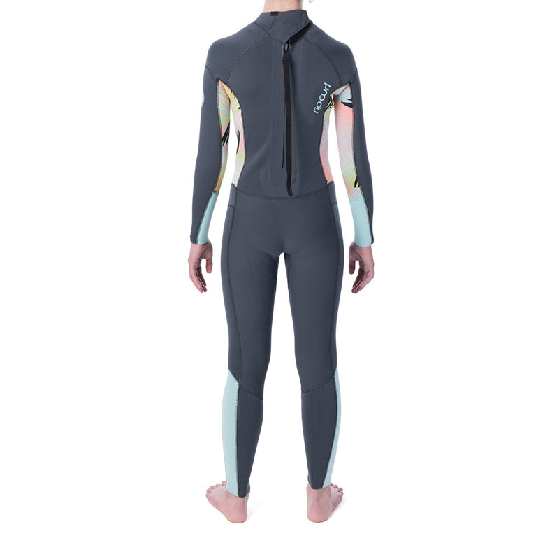 Rip Curl Girl's Dawn Patrol 3/2MM Back Zip Fullsuit Wetsuit FA19