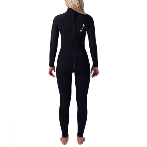 Rip Curl Women's Dawn Patrol 5/3mm Back Zip Fullsuit Wetsuit FA19