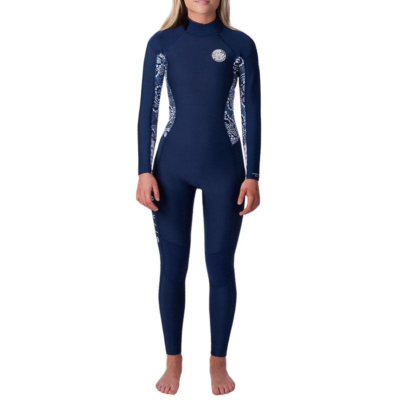 Rip Curl Women's Dawn Patrol 3/2mm Back Zip Fullsuit Wetsuit SP20