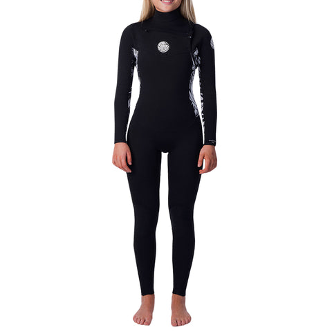 Rip Curl Women's Dawn Patrol 3/2mm Chest Zip Fullsuit Wetsuit FA19