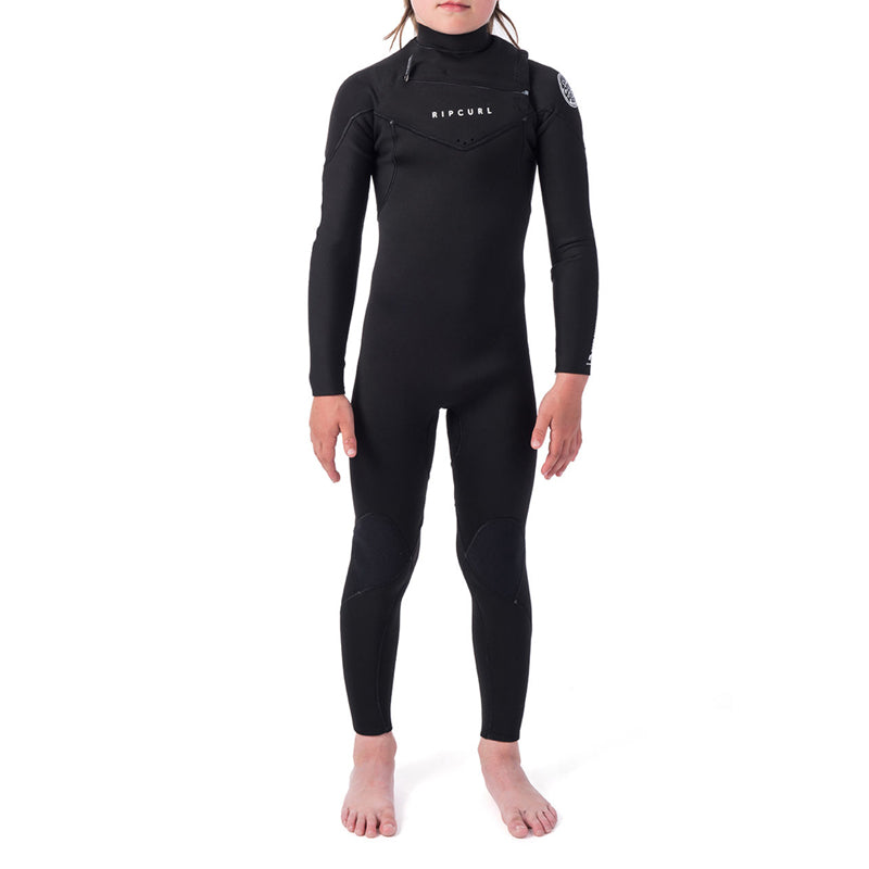 Rip Curl Boy's Dawn Patrol 4/3MM Chest Zip Fullsuit Wetsuit FA19