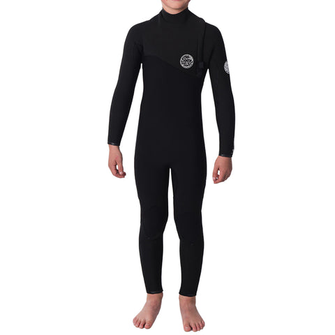 Rip Curl Boy's Flashbomb 4/3mm Zip Free Fullsuit Wetsuit FA19