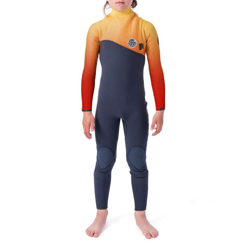 Rip Curl Boy's Flashbomb 3/2MM Zip Free Fullsuit Wetsuit FA19
