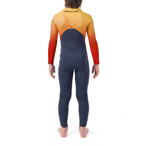 Rip Curl Boy's Flashbomb 4/3MM Zip Free Wetsuit FA19