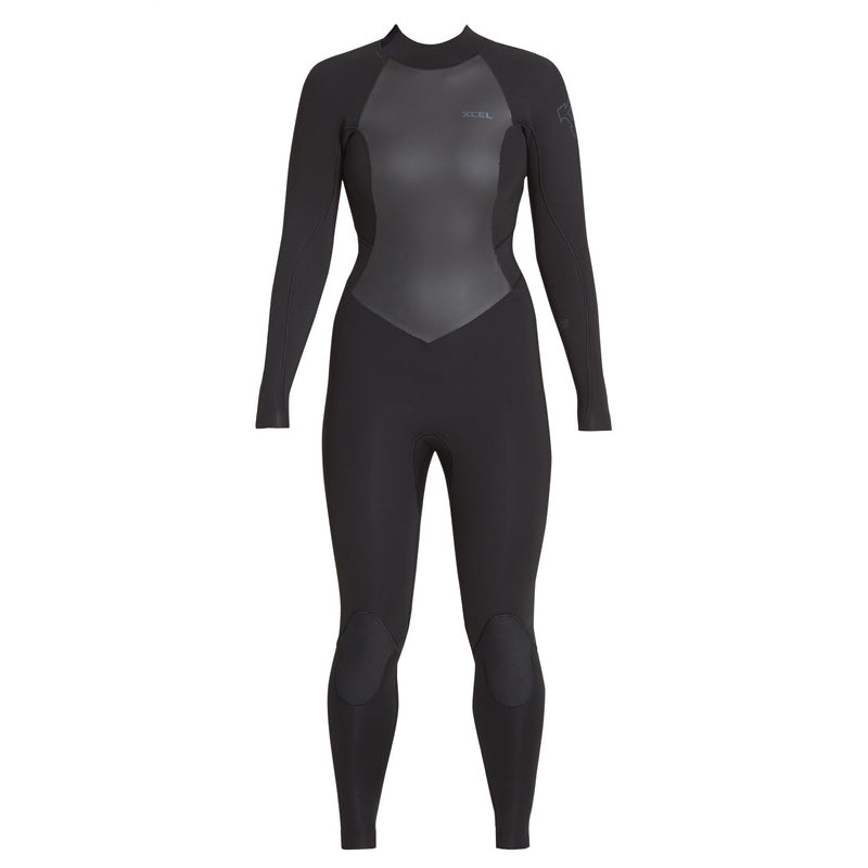Xcel Women's Axis 4/3mm Back Zip Fullsuit Wetsuit FA19