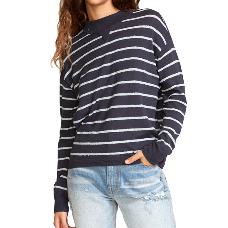 RVCA Women's Tristan Striped Sweater