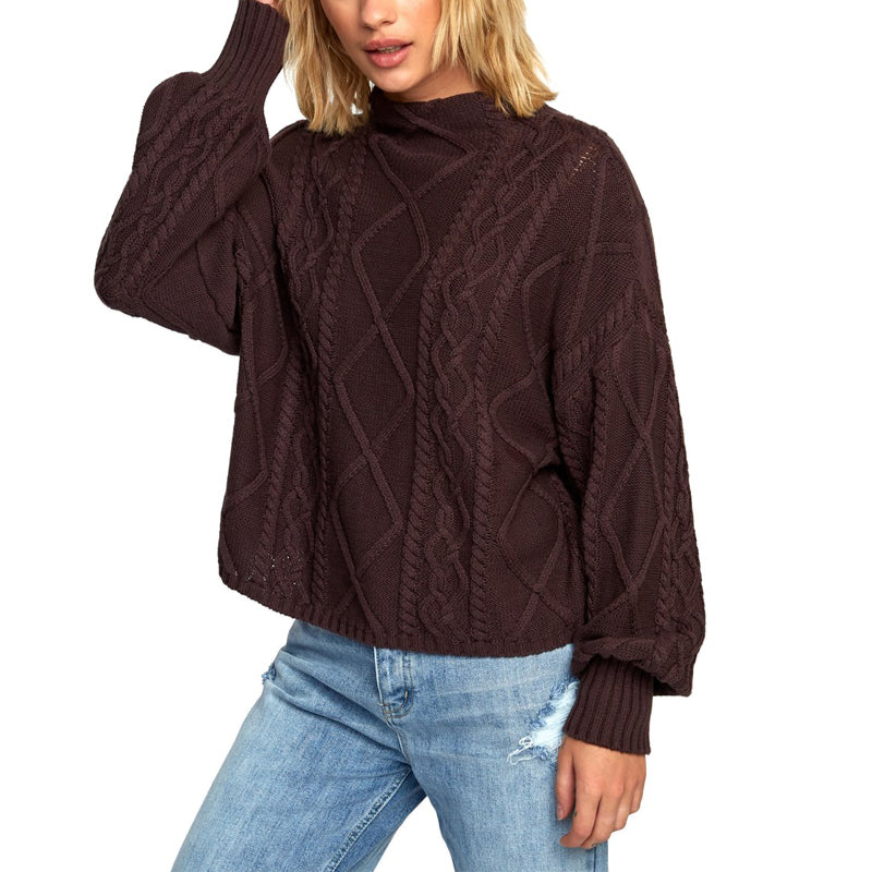 Womens Attraction Knit Sweater