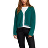 Women Authority Knit Button-Up Cardigan