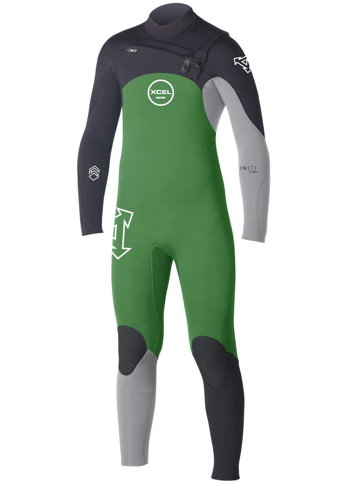 Xcel Youth Infiniti Comp 3/2 Chest Zipper Wetsuit