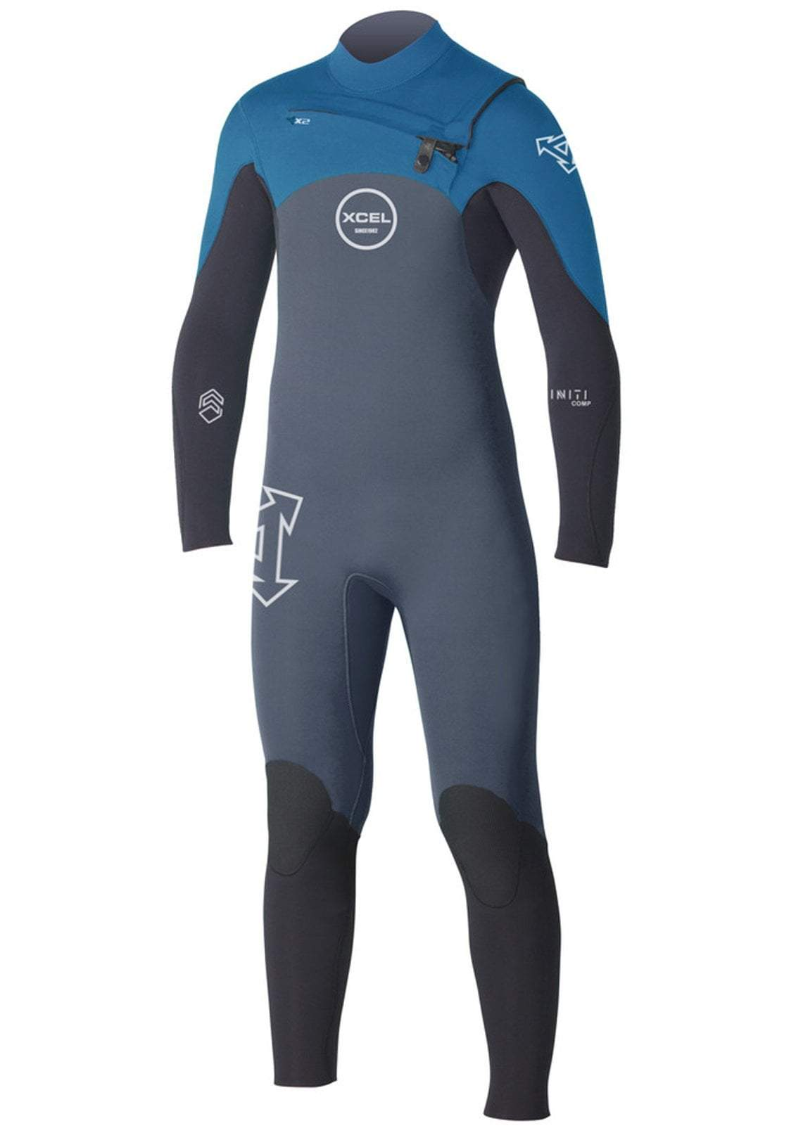 Xcel Youth Infiniti Comp 4/3 Chest Zip Wetsuit