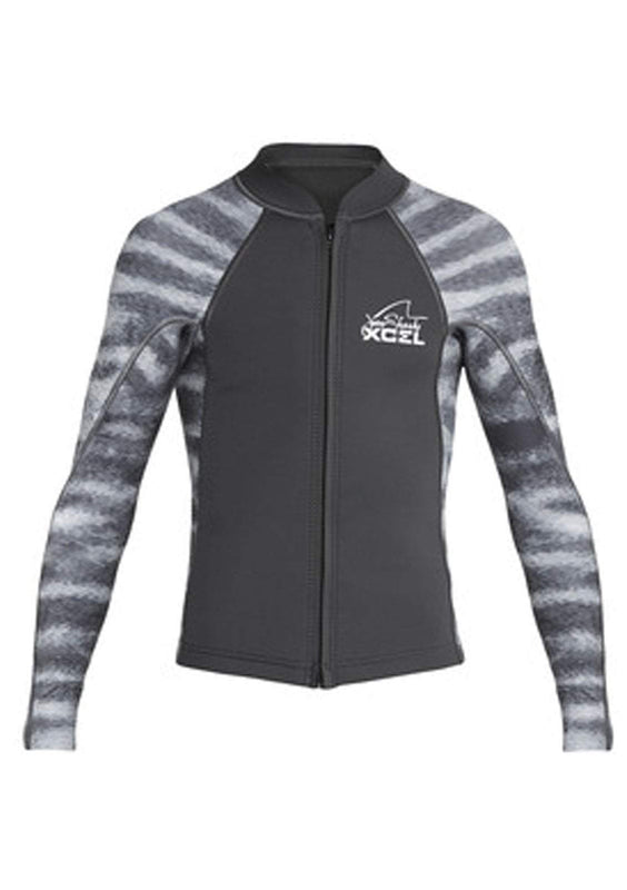 Xcel Youth Axis 2/1mm L/S Front Zip