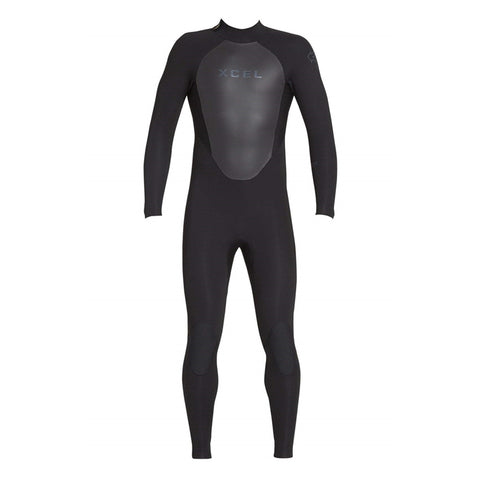 Xcel Men's Axis 3/2 Back Zip Fullsuit Wetsuit FA19