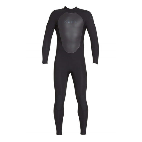 Xcel Men's Axis 4/3 Back Zip Fullsuit Wetsuit FA19