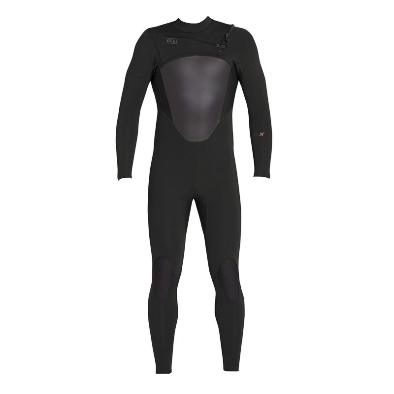 Xcel Men's Axis X 4/3mm Chest Zip Fullsuit Wetsuit FA19