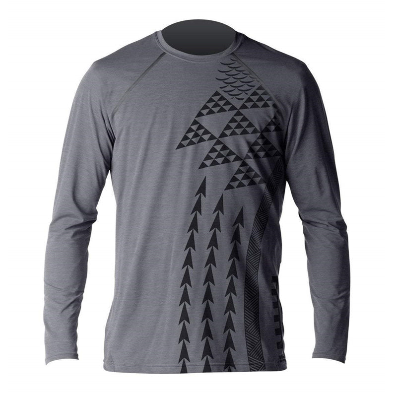 Xcel Men's Haleiwa Heathered Ventx L/S Rashguard SP18
