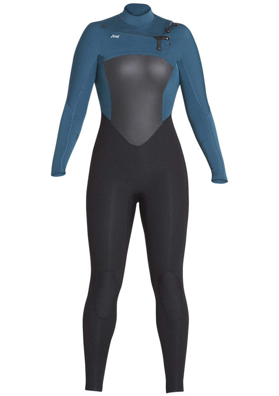 Women's Xcel Infiniti 4/3 Chest Zip Fullsuit Wetsuit