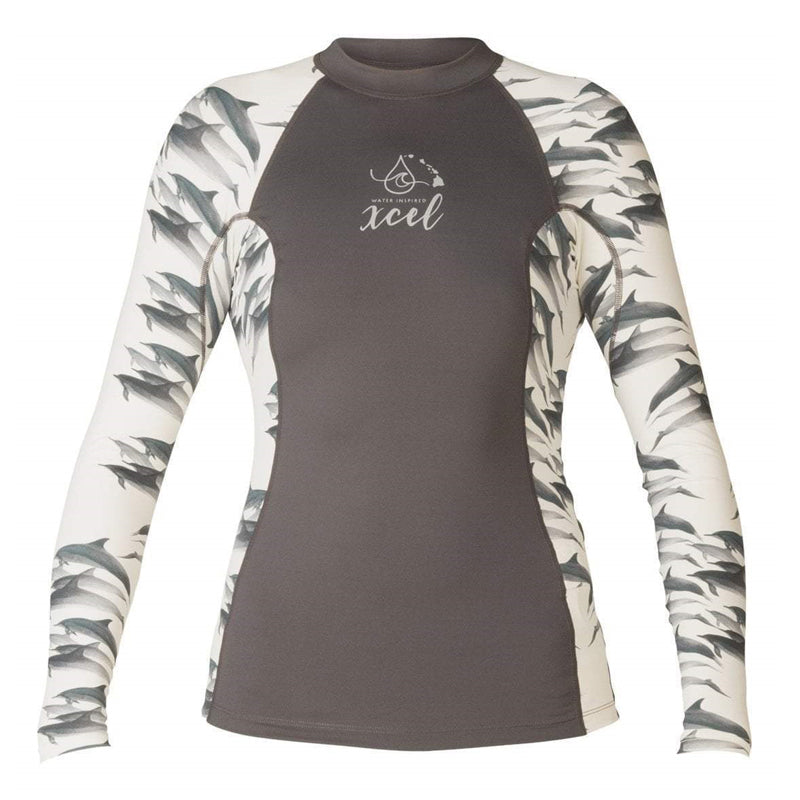 Xcel Women's Water Inspired UV 6 oz. L/S With Key Pocket SP18
