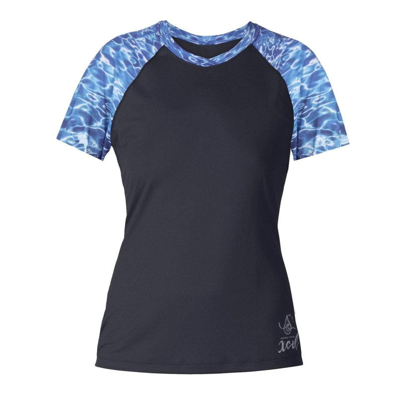 Xcel Women's Water Inspired Ventx S/S UV Rashguard SP18